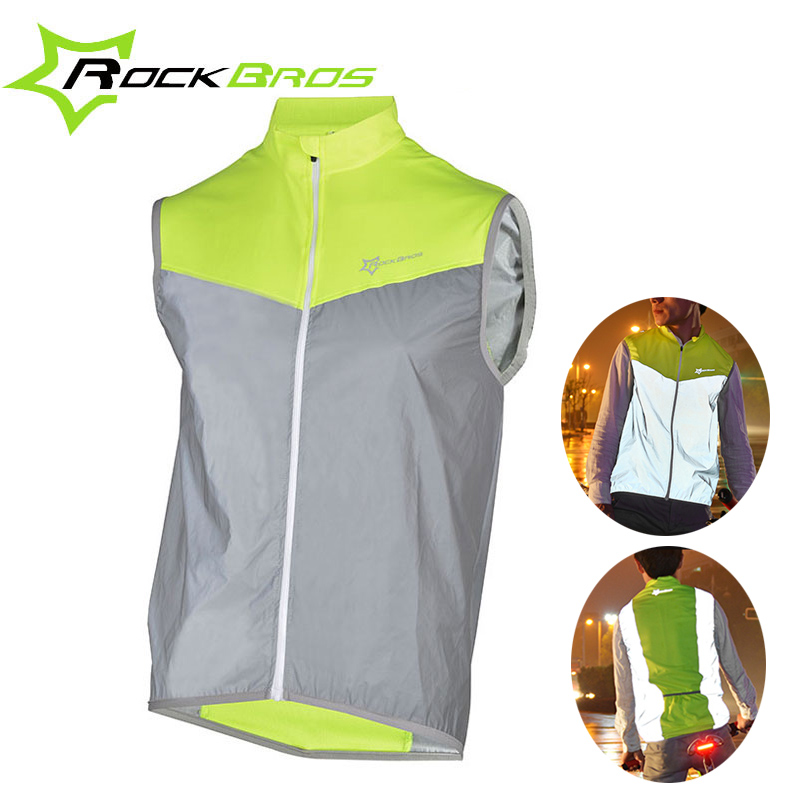 ROCKBROS Jersey Bicycle Cycling-Sport-Jersey Breathable Sleeveless Windproof Male Men