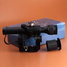Тактический Красной Подсветкой 4×24 PSO-1 Тип Объем для Драгунова СВД Снайперская Винтовка Серии АК Прицел