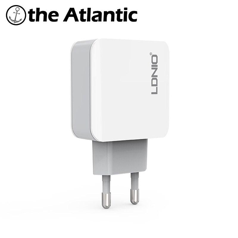LDNIO A3301 3 Port USB Plug 5V 3.1A Quick Charger EU  Power Socket Smart  For iPhone iPad AndroidLDNIO A3301 3 Port USB Plug 5V 3.1A Quick Charger EU  Power Socket Smart  For iPhone iPad Android