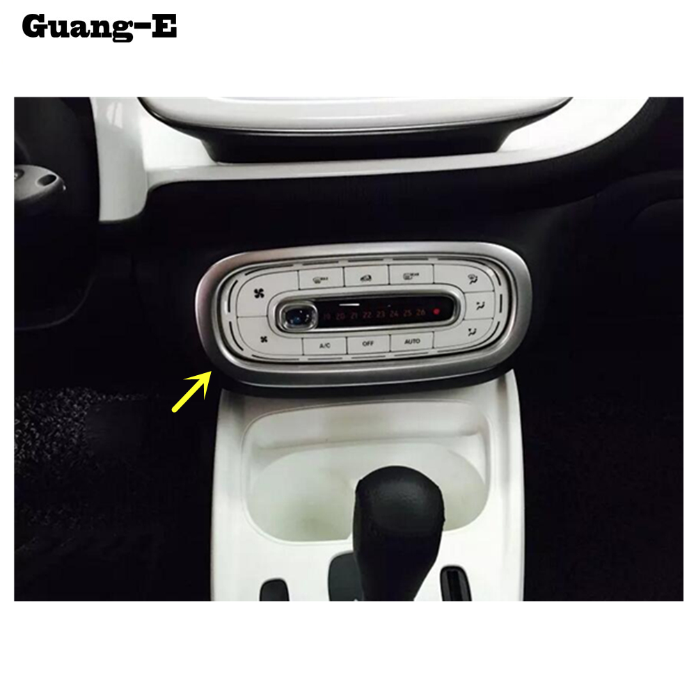 Interior Accessories Car Styling Inner Trim Conditioning Middle Air Condition Switch Outlet Vent Hoods 1pcs For Benz Smart Fortwo 2015 2016 2017 2018 Automobiles & Motorcycles