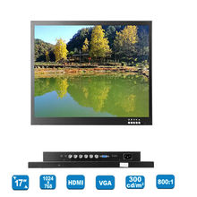 Eyoyo 17″ TFT LCD HD 1024*768 Video AV Monitor HDMI VGA BNC for TV PC DVD Gaming