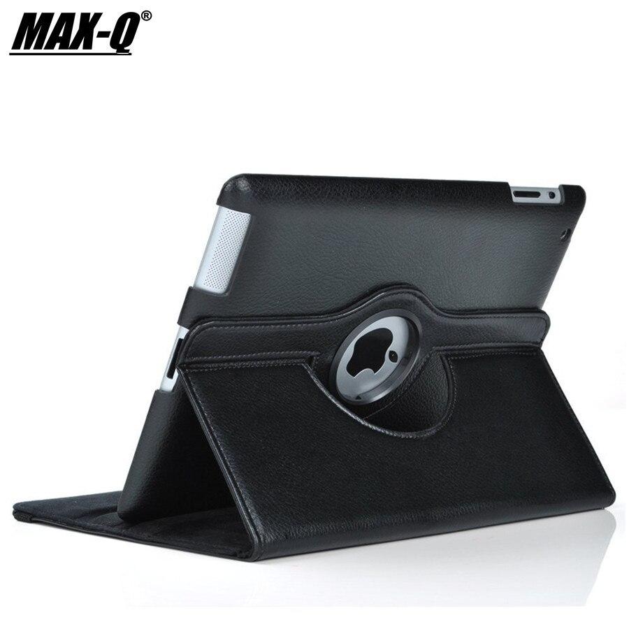 New For IPad Mini 1 Mini 2 Mini 3 Case 360 Rotation Flip Stand A1432 A1454 Protective 7.9'' Case For IPad Mini 1 2 3 Smart Cover