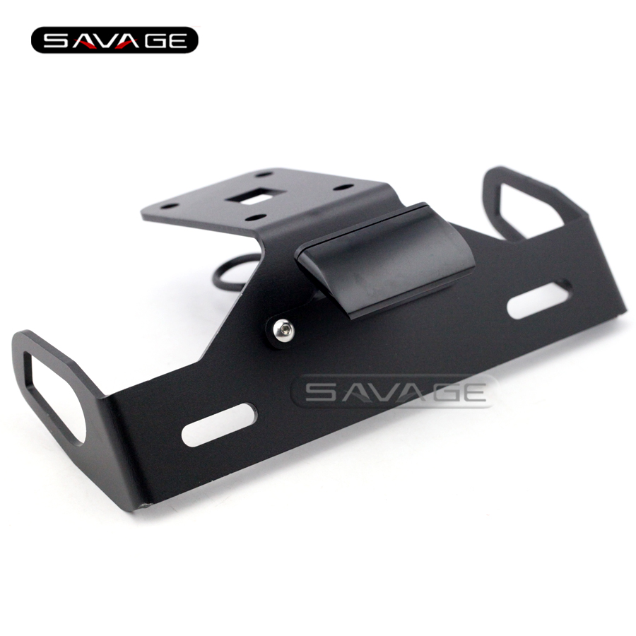 For KAWASAKI Z1000 2014 2015 2016 Black Motorcycle Tail Tidy Fender Eliminator Registration License Plate Holder Bracket LED aftermarket free shipping motorcycle parts eliminator tidy tail for 2006 2007 2008 fz6 fazer 2007 2008b lack