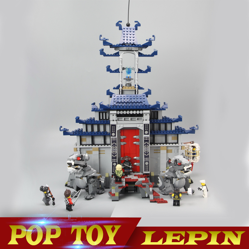 In Stock DHL lepin 06058 1501pcs Movie Temple of The Ultimate Weapon Building Blocks bricks DIY baby Toys children Gift 70617 lepin 06058 ninja serie die tempel der ultimative ultimative waffe modell bausteine set kompatibel 70617 spielzeug fur kinder