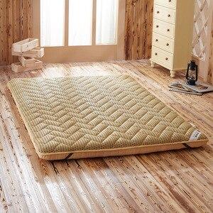 Image 3 - Colchão massageador de espuma, colchão duplo de fibra de bambu, colchão de ar