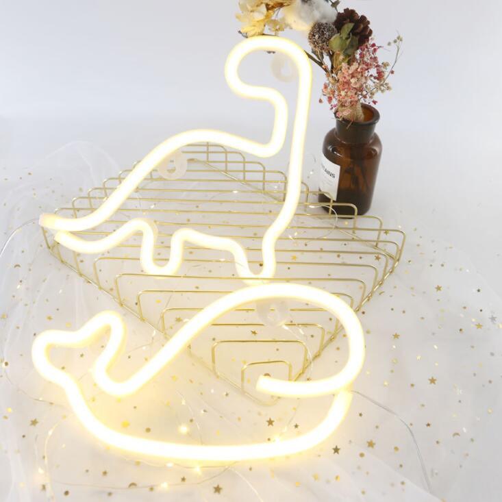 Lampe à modeler LED flamant rose LED lampe de nuit décorative lampe de couleur de noël lampe néon alphabet