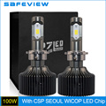 For Imported Seoul CSP LED Chip 50W 10000LM D1S D1R Car LED Headlight Bulb 6000K Car Accessories