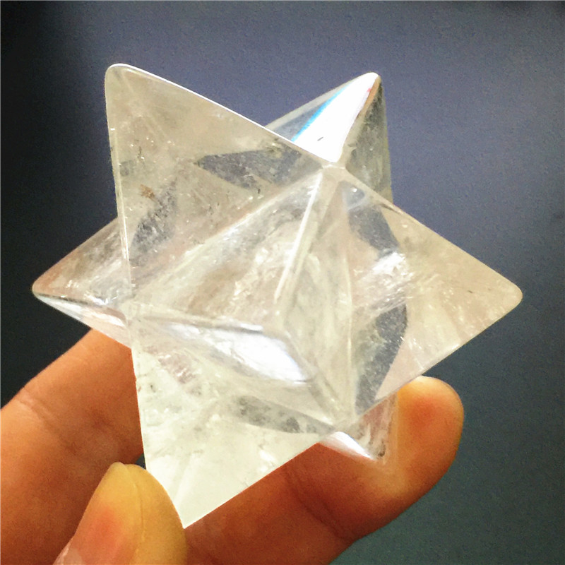 Natural Crystal Quartz Merkaba Stars Gemstone Unicursal Hexagram Great for Meditation Healing Positive Healing Balancing SetNatural Crystal Quartz Merkaba Stars Gemstone Unicursal Hexagram Great for Meditation Healing Positive Healing Balancing Set