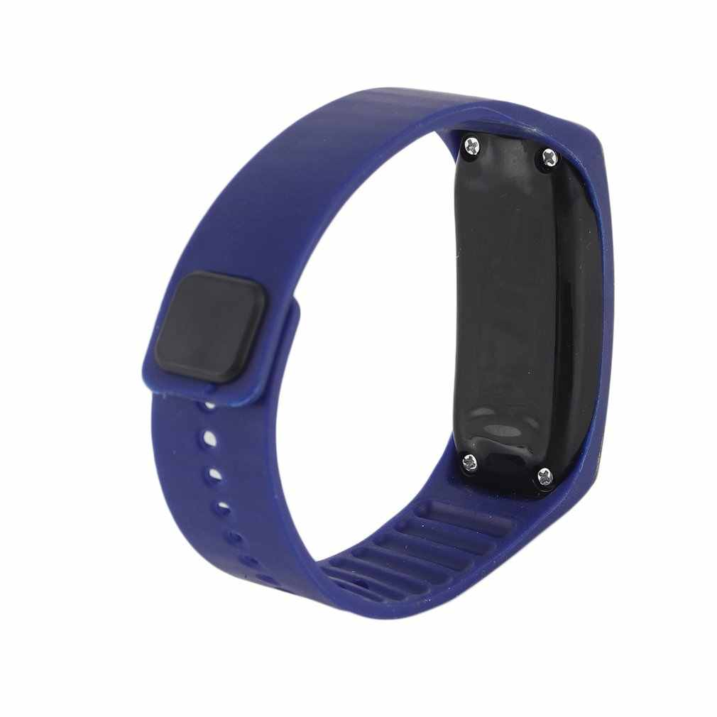 GENBOLI LED Silicone Wristband Bracelet Light weight Soft Fashion Fitness clock Sports Band Watch For Men Women dropshipping