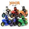 Ninja Kai Jay Zane Cole Lloyd Carmadon With Tornado Motorcycle Ninjagoes Figures Building Block Toys Compatible