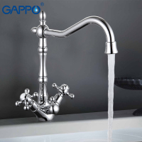 GAPPO 1set High Quality Kitchen Faucet Tap Double Handle Water Purification Function Cold And Hot Water