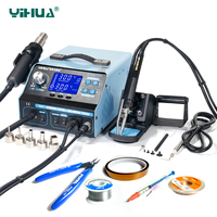 YIHUA 992DA BGA Soldering Station Repair Board Rework Station Soldering With Hot Air Gun Soldering Iron