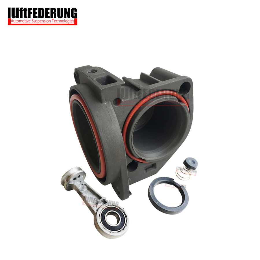 Luftfederung Air Pump Head Cylinder With Piston Ring Rubber Valve For Audi A8 Mercedes W220 W211 W221 2203200104 4E0616007D