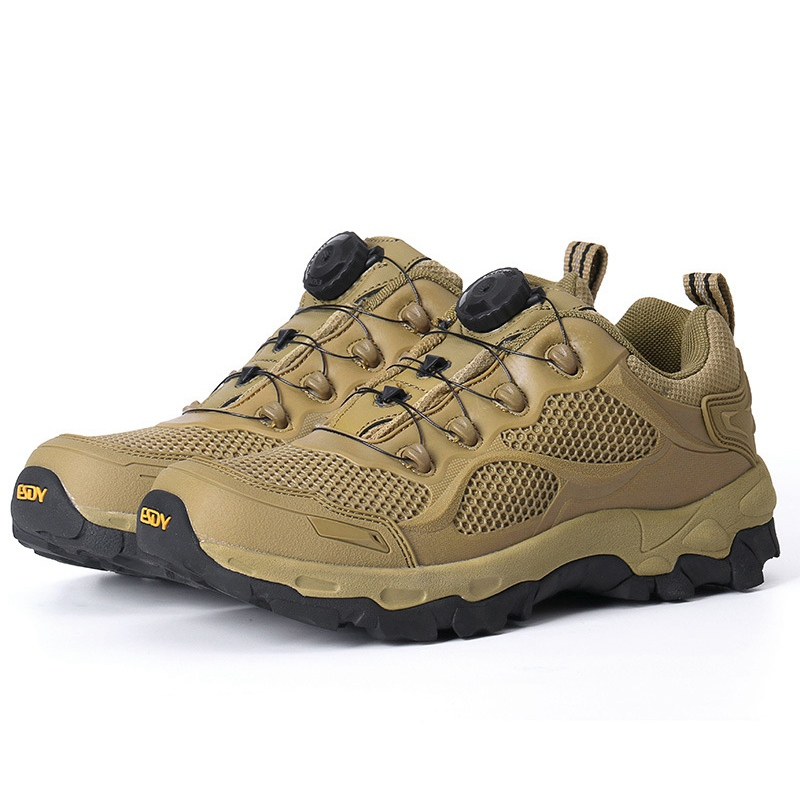 Men Hiking Shoes for Mountain Hunting Climbing Hiking Boots Breathable Tactical Shoes Outdoor Trekking Shoes Non-slip Sneakers outdoor hunting shoes for men waterproof winter sneakers men increased internal non slip hunting camping shoes hiking boots