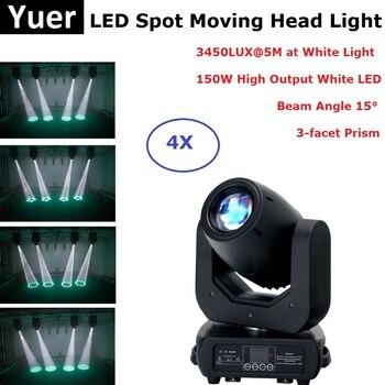 DMX LED ruchoma głowa 150W biały LED ruchome głowy oświetlenie na imprezę idealne dla DJ etap Party koncert oświetlenie imprez disco światła