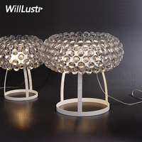 Caboche Table Lamp PATRICIA URQUIOLA ELIANA GEROTTO Clear Gold Bead Small Large Size Bedroom Foyer Hotel