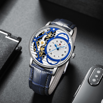 b71834650ece Recompensa vestido Casual relojes para hombre marca de lujo azul reloj de  cuarzo impermeable deporte cronógrafo