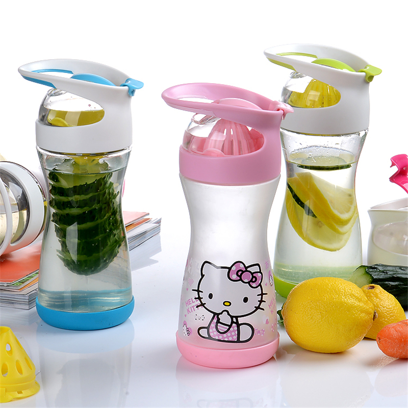 500ML Hello Kitty Manual Juicer Lemon Citrus Juicer With Fruit Vegetable Juice Extractor And Lemon Juice Extractor glantop 2l smoothie blender fruit juice mixer juicer high performance pro commercial glthsg2029