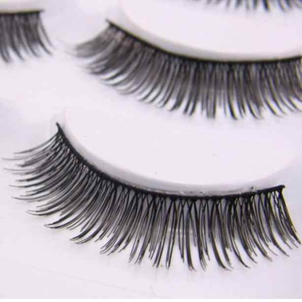 Detail Feedback Questions About Natural False Eyelashes Voluminous