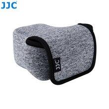 JJC беззеркальных Камера сумка 111 мм (Ш) х 69 мм (H) небольшой неопреновый чехол Черный, Серый Мини чехол для Canon Nikon Pentax Panasonic