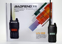 BaoFeng UV-66 Walkie Talkie CB radio 128CH 5W dual band VHF&UHF 136-174MHZ/400-520MHz Handheld UV66 For Hunting Transceiver