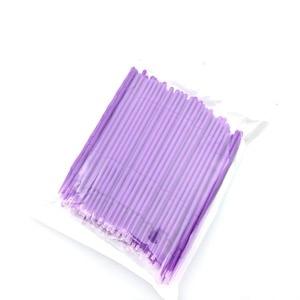 Image 3 - 100pcs Disposable Makeup Brushes Swab Microbrushes Eyelash Extension Durable Micro Individual Applicators Mascara Brush