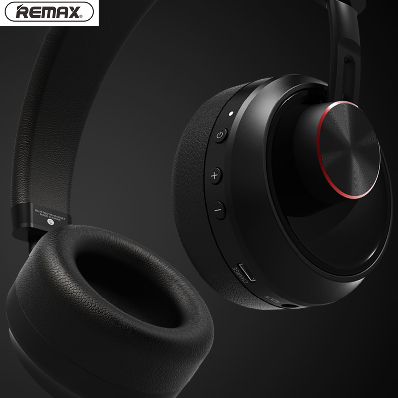 Remax 500HB Bluetooth V4.1 Headset HIFI Earphone Stereo Headband Noise Cancelling Head Phones for iphone xiaomi with Microphone - 5
