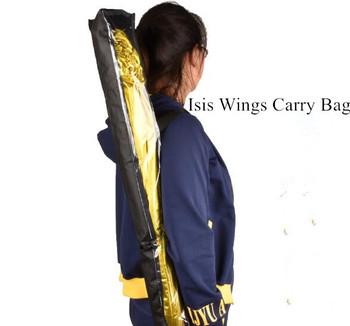 Tanie brzuch kostium taneczny kąt Isis skrzydło torba włóknina Carry Cases czarny darmowa wysyłka tanie i dobre opinie Ndrahi WOMEN W-1703 Taniec brzucha Poliester