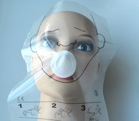 50 Rolls Pack 36pcs Roll CPR MASK CPR Face Shield Roll Disposable For Cpr Training