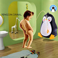 Separable Suspensible Cute Penguin Shape Infant Boys Stand Vertical Urinal Potties Toddler Potty Baby Boy Toilet Training Closet
