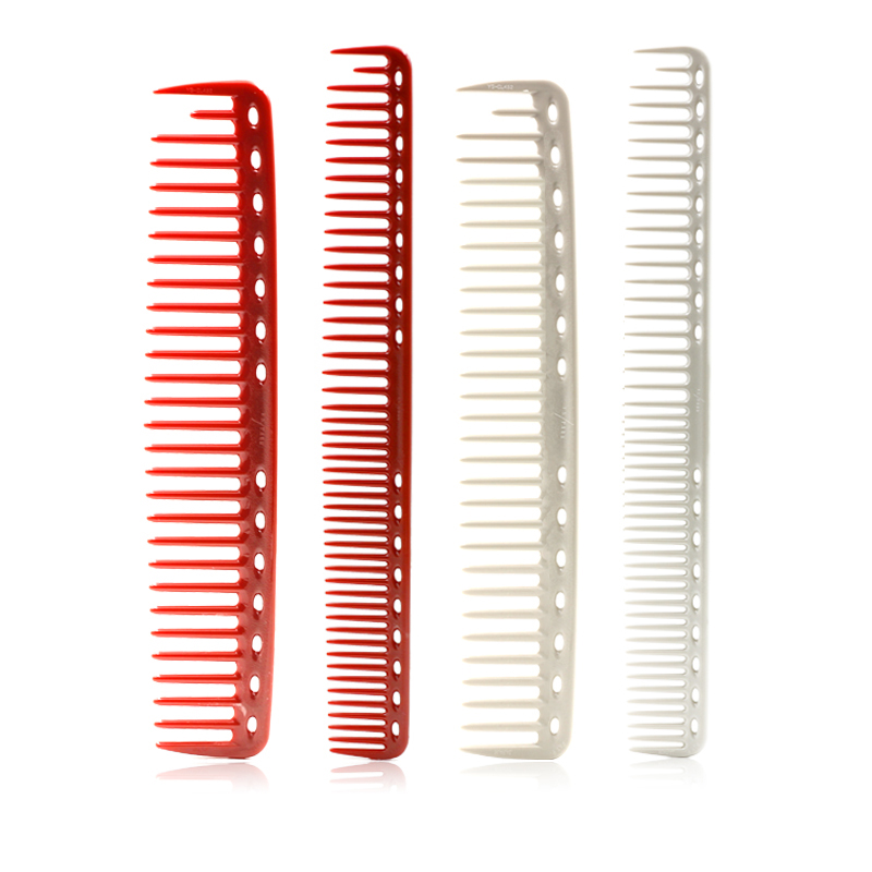 2 Colors Professional High Quality Hair Combs Salon Hairdressing Barber Comb Durable Resin Hair Cutting Comb Styling Tool