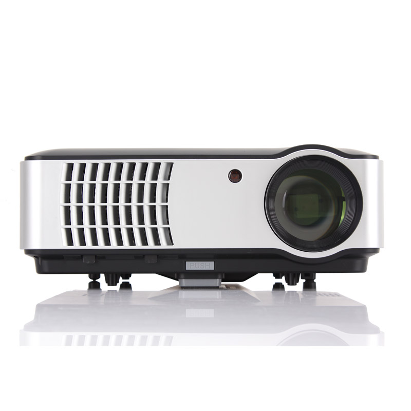 RD-806 Full HD 1080p Business & Education,Home LED Theater Projector come with HDMI TV VGA AV Function