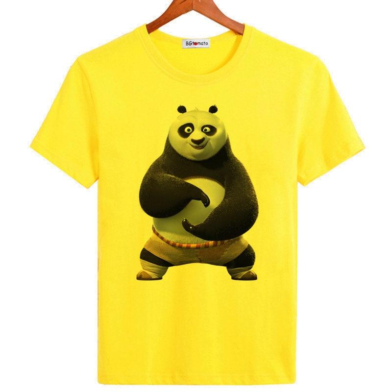 20c3fc8cd309 BGtomato Super kungfu Panda 3D t shirt for men New arrival fashion summer  shirt Brand good quality comfortable modal tops