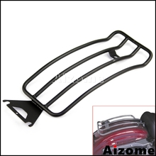 Motorcycle Black Luggage Rack For Harley Touring FLHT Electra Glide FLTR Road Glide FLHR Road King w/ Solo Seat