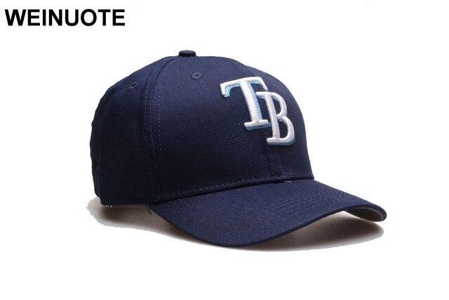 New Tampa Bay Rays Adjustable Strapback Hats Sport classic Fashion Baseball  Full Navy Hat Caps Hat Fowmen Free shipping b9ebbb866