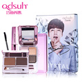 Qdsuh Jang Keun Suk Signature Special Crystal Makeup Set Pressed Powder Mascara Brow Eyeshadow Cosmetic Base Primer Foundation