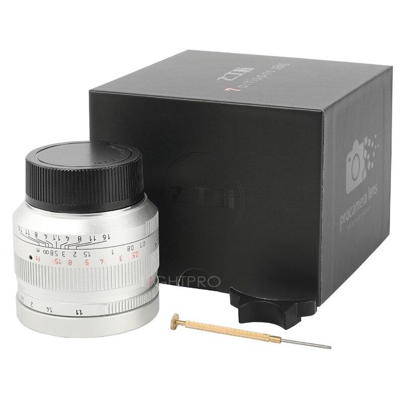 7 handwerker 50mm F1.1 M Mount Befestigt Objektiv für Leica M Mount Kameras M M M240 M3 M6 M7 m8 M9 M10 - 6