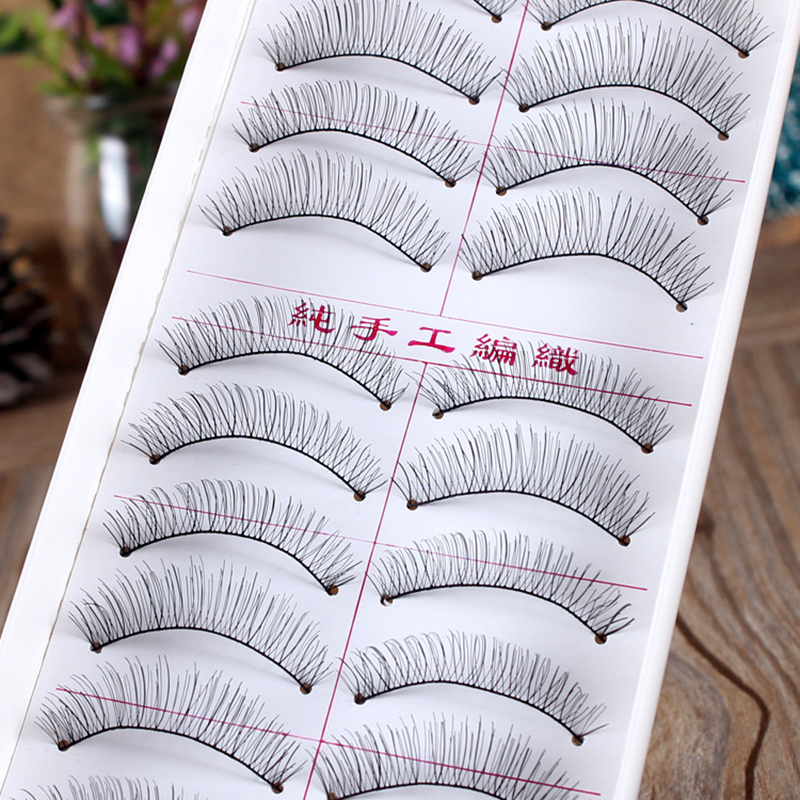New 1 Sheet Individual Lash Black False Eyelash Natural Long Cluster Extension Makeup Beauty Health Makeup M02185