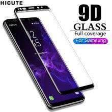 9D מזג זכוכית עבור Samsung Galaxy הערה 8 9 S9 S8 בתוספת S7 קצה A50 A70 מסך מגן עבור סמסונג גלקסי A50 A70 A40 זכוכית