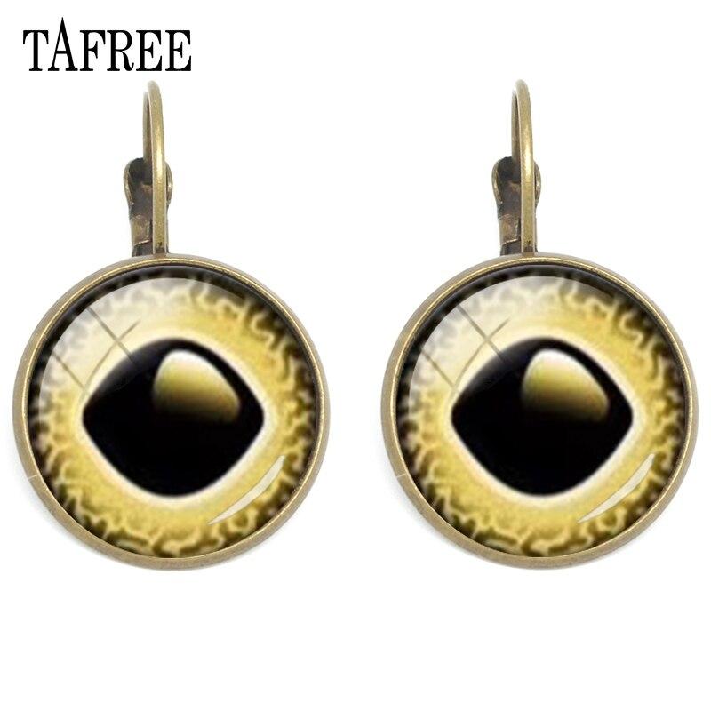Competent Tafree Funny Novelty Evil Eye Clip On Earrings Metal Fashion For Men Women Girls Statement Earrings Birthday Gifts Jewelry Ey295 Earrings
