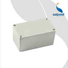 Aluminum cable box 115*65*55mm junction box outdoor cast aluminum waterproof box