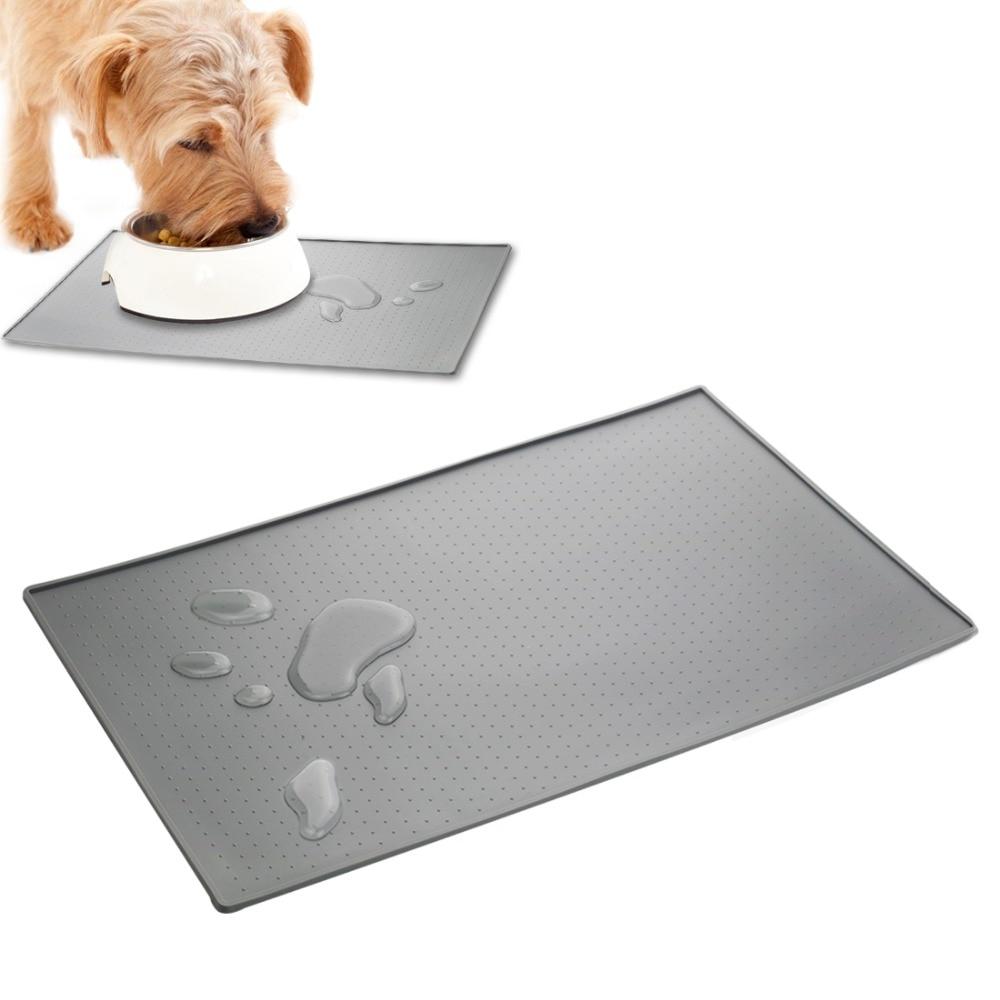 Waterproof Dog Food Mat For Dog Silicone Pet Food Pad Pet