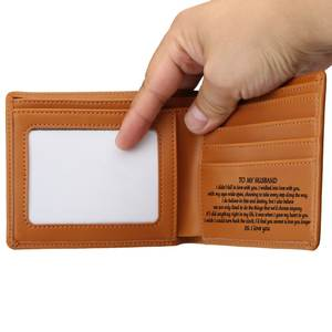 Link Special Drop shipping Only Engraving Wallet