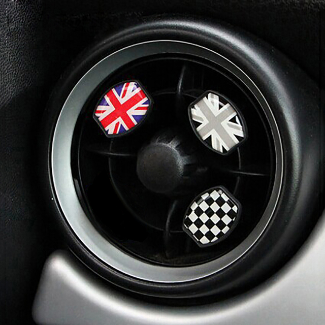 Union Jack Air Freshener Car Vent Clip Perfume For Mini Cooper Jcw One S