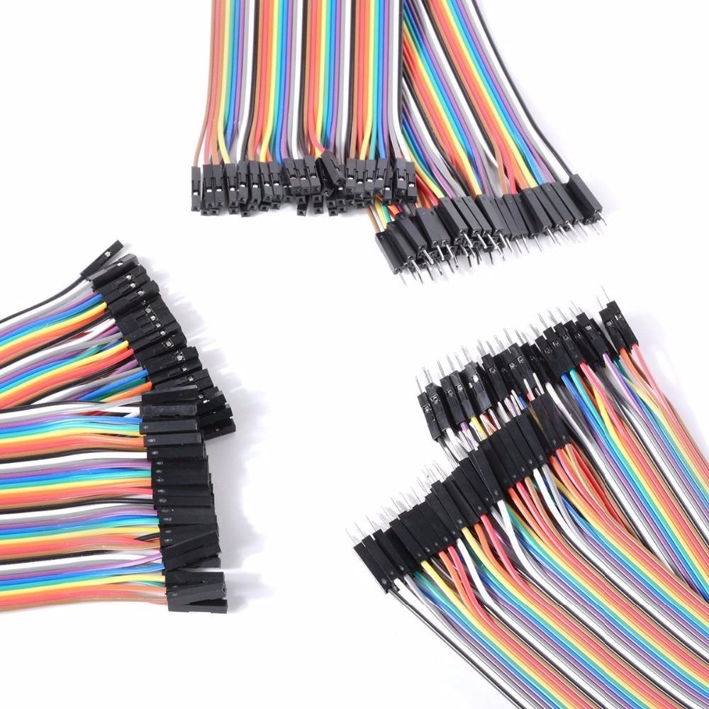 """Adeept """"pasidaryk pats"""" nauja """"Dupont"""" linija, 120vnt., 20cm, - Protingas elektronika - Nuotrauka 2"""