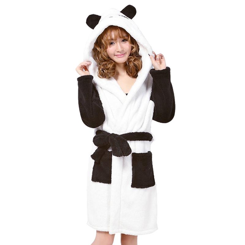 New-arrival-autumn-and-winter-women-s-cartoon-fleece-soft-bathrobe-with-hood-lovely-juniros-girls (5)
