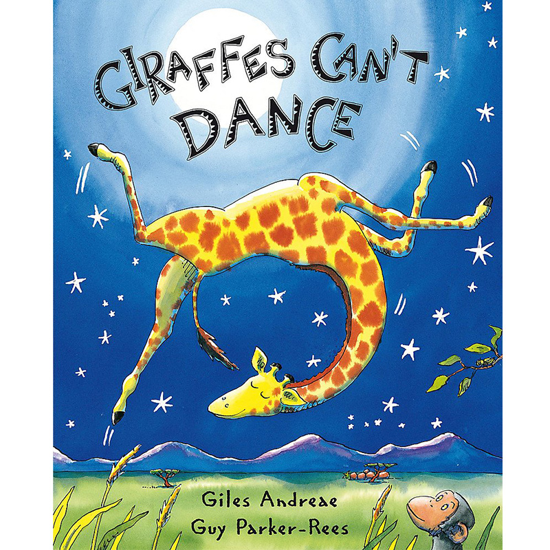 Giraffes Can't Dance By Giles Andrede English Picture Card Book For Children Toy Story Kids English Montessori Educational Book