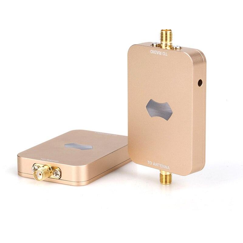 Amplificador de señal inalámbrico sunhans-esunrc de 2,4 GHz, 3000mW, 35DBM, extensor repetidor WIFI para Drones DJI RC, Yuneec Holy Stone Antena ADS-B/TCAS/SSR 10 dbi 1090MHz, adaptador macho SMA, conector amplificador de señal 375mm
