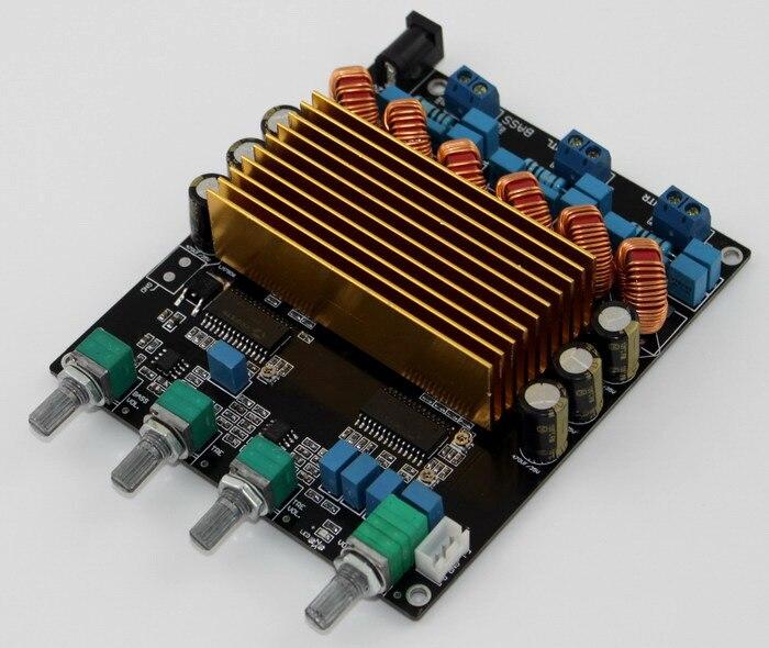 STA508 2*80 W + 160 W 2.1 classe D amplificateur carte complète + tonalité ajuster