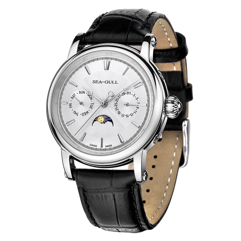 本カモメ日日付デイナイトインジケータギョーシェタマネギクラウン展腕時計自動 D0721S  グループ上の 腕時計 からの 機械式時計 の中 1